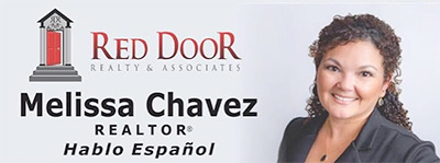 Melissa D. Chavez - Red Door Realty Logo
