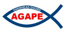 Agape Overhead Door & Construction Logo