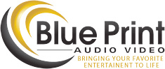 Blue Print Audio Video Logo