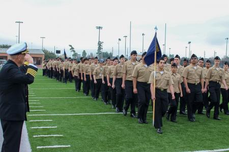 JROTC Cadets Grab Top Spot In Competition