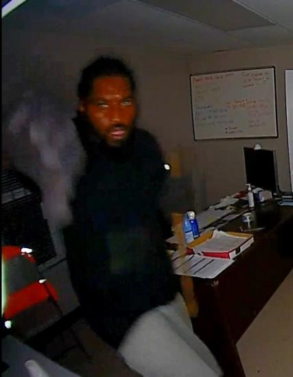 Do You Recognize This Suspect Who Broke Into The Aldine Fire Sta