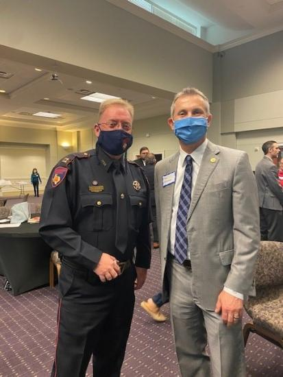 Constables Attend The Greater Tomball Leader Connect Luncheon