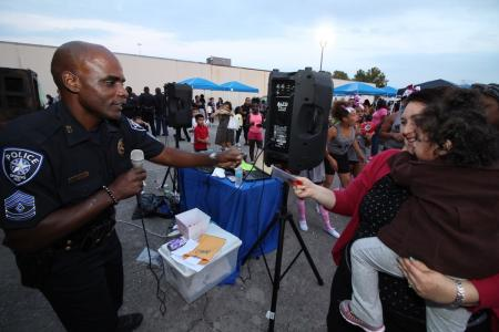 Spring ISD Police Host National Night Out Celebration