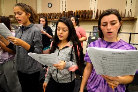 Spring High School Choral Ensemble Achieves National Recognition