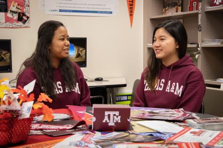 Two SISD Students Join Posse Headed To A&M
