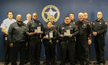 Deputies Receive Medals For Heroics During House Fire