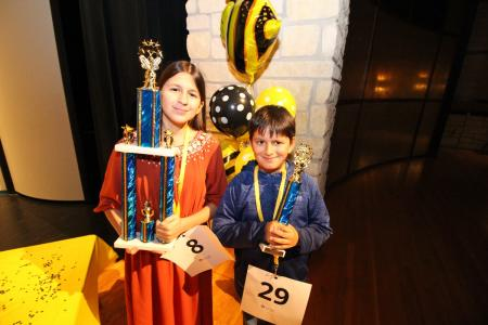 Siblings Shine At District Spelling Bee