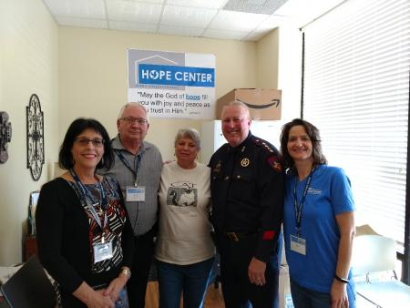 Constable Herman Visits Hope Center