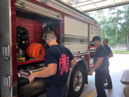 Spring FD Goes Pink For Breast Cancer Awareness Month