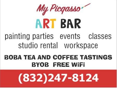 My Picqasso Art Bar in Old Town Spring